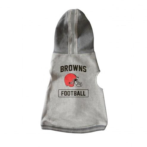 Cleveland Browns Dog Hooded Crewneck