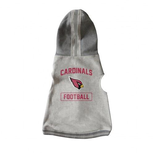 Arizona Cardinals Dog Hooded Crewneck