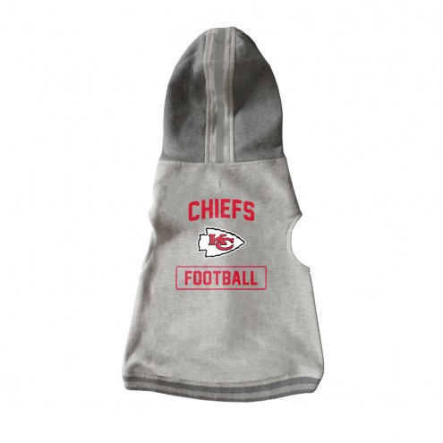 Kansas City Chiefs Dog Hooded Crewneck