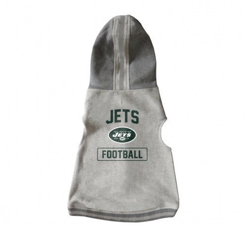 New York Jets Dog Hooded Crewneck