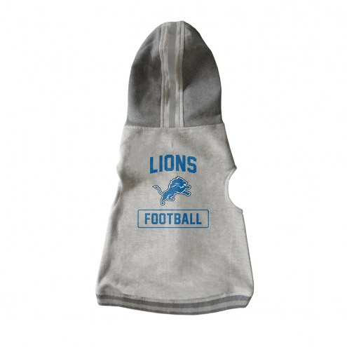 Detroit Lions Dog Hooded Crewneck