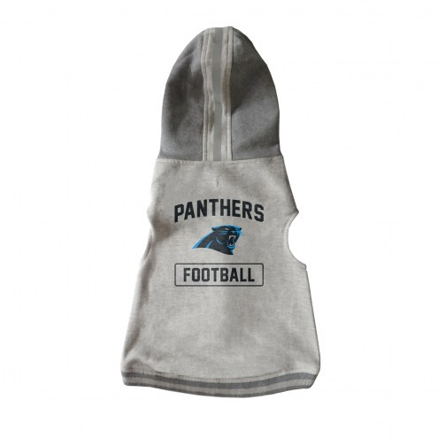 Carolina Panthers Dog Hooded Crewneck