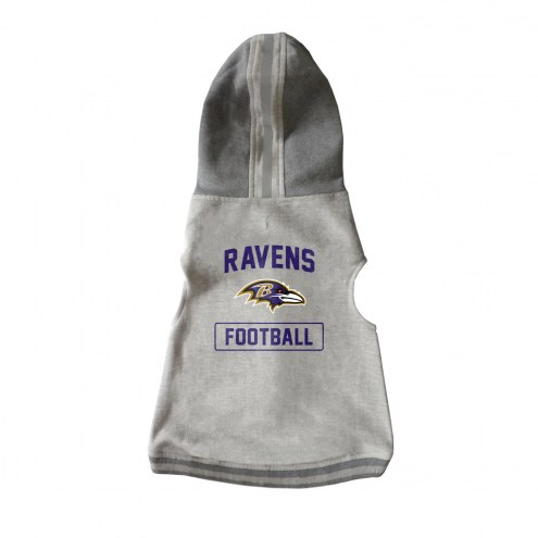 Baltimore Ravens Dog Hooded Crewneck