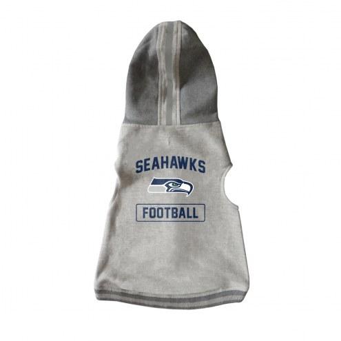 Seattle Seahawks Dog Hooded Crewneck