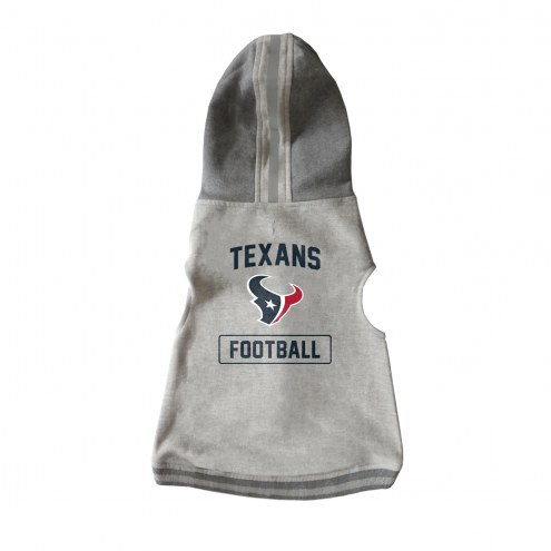 Houston Texans Dog Hooded Crewneck