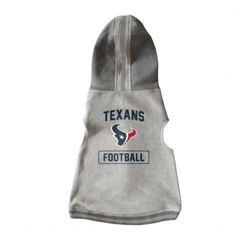 Houston Texans Dog Hooded Crewneck
