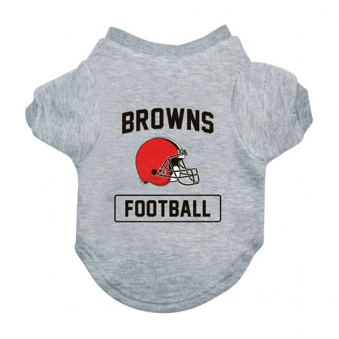 Cleveland Browns Gray Dog Tee