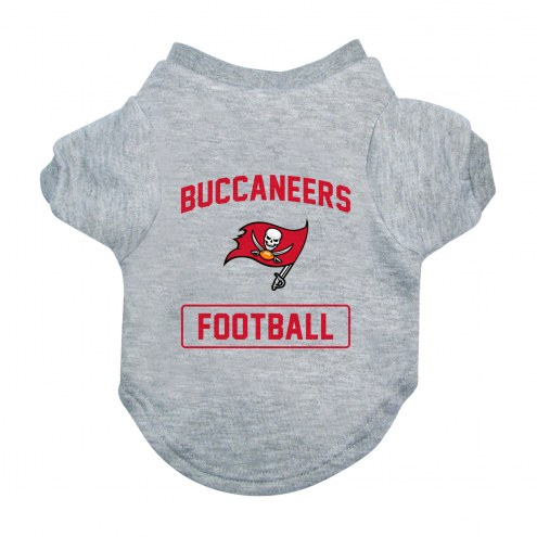 Tampa Bay Buccaneers Gray Dog Tee