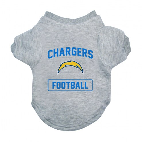 Los Angeles Chargers Gray Dog Tee