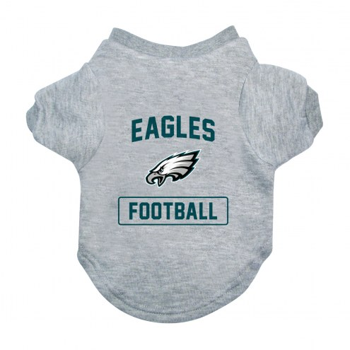 Philadelphia Eagles Gray Dog Tee