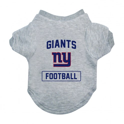 New York Giants Gray Dog Tee