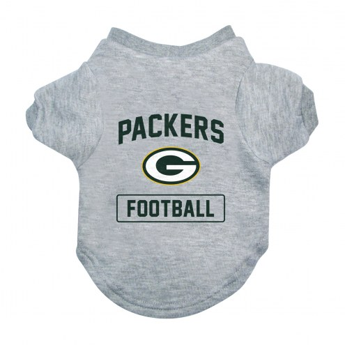 Green Bay Packers Gray Dog Tee