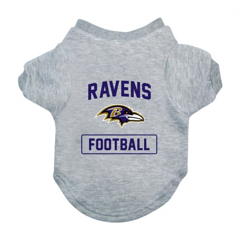 Baltimore Ravens Gray Dog Tee