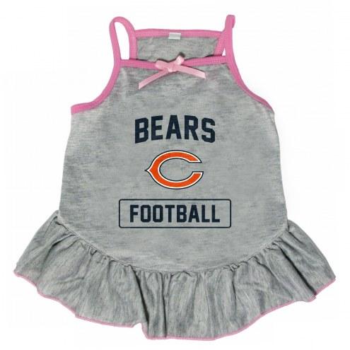 Chicago Bears NFL Gray Dog Dress