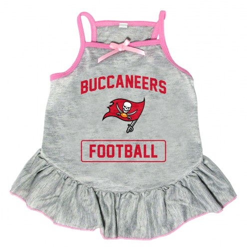Tampa Bay Buccaneers NFL Gray Dog Dress