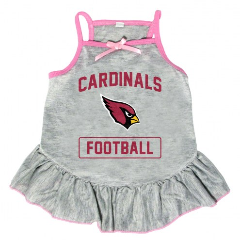 Arizona Cardinals NFL Gray Dog Dress