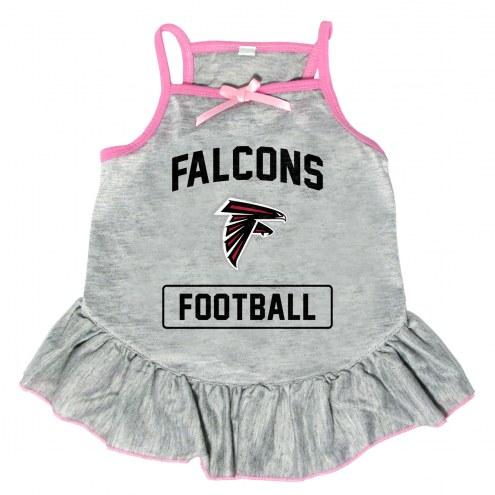 Atlanta Falcons NFL Gray Dog Dress