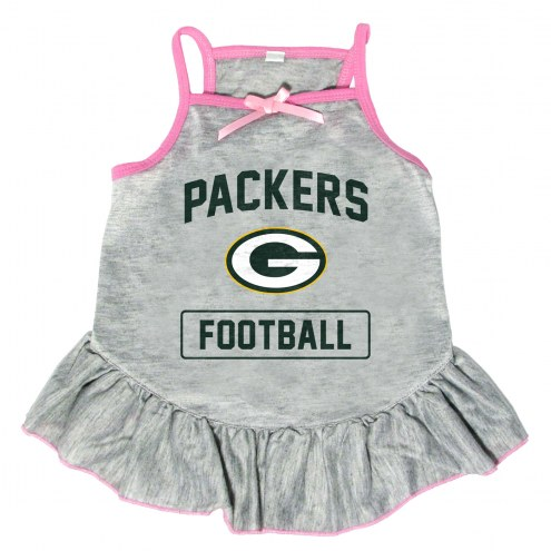 Green Bay Packers NFL Gray Dog Dress