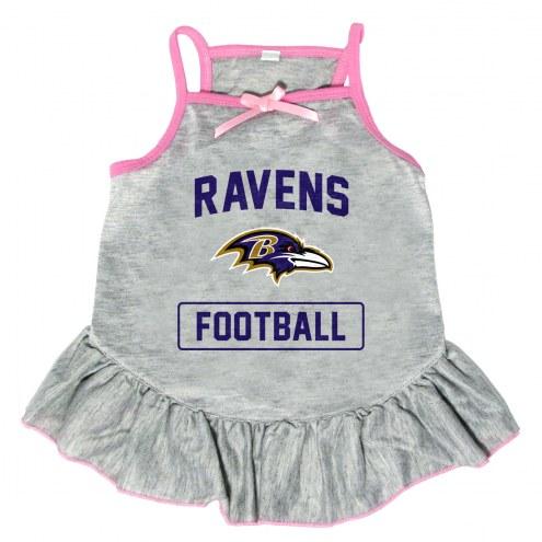 Baltimore Ravens NFL Gray Dog Dress