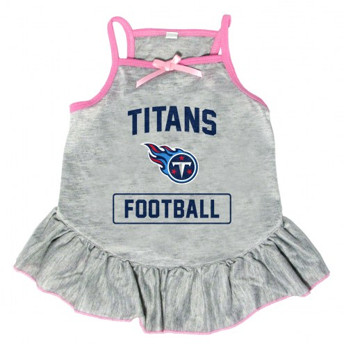 Tennessee Titans NFL Gray Dog Dress