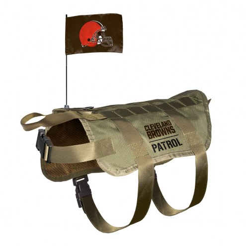 Cleveland Browns Tactical Pet Vest