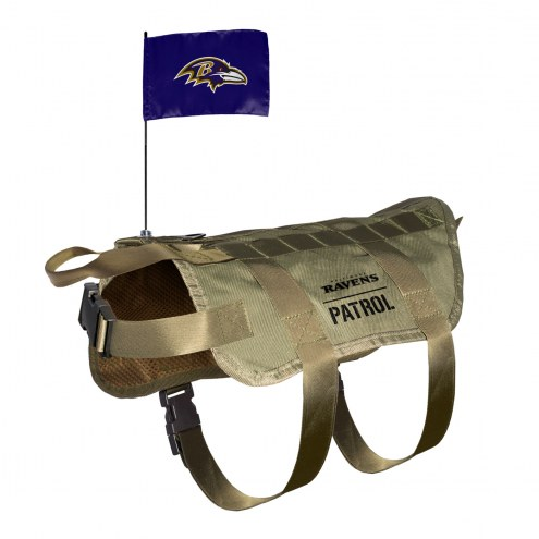 Baltimore Ravens Tactical Pet Vest