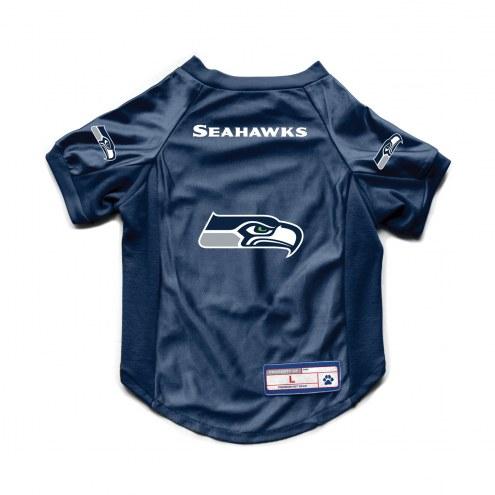 Seattle Seahawks Stretch Dog Jersey