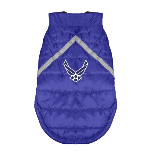 Air Force Falcons Dog Puffer Vest