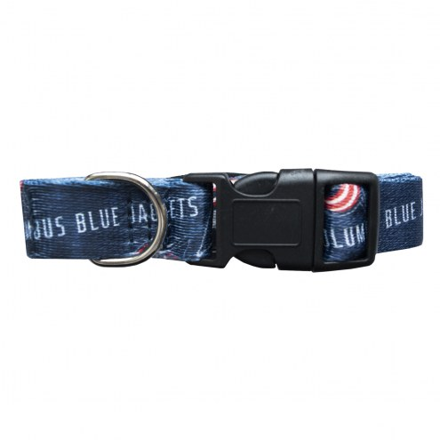 Columbus Blue Jackets Team Pet Collar
