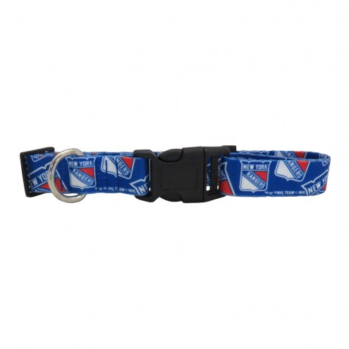 New York Rangers Team Pet Collar