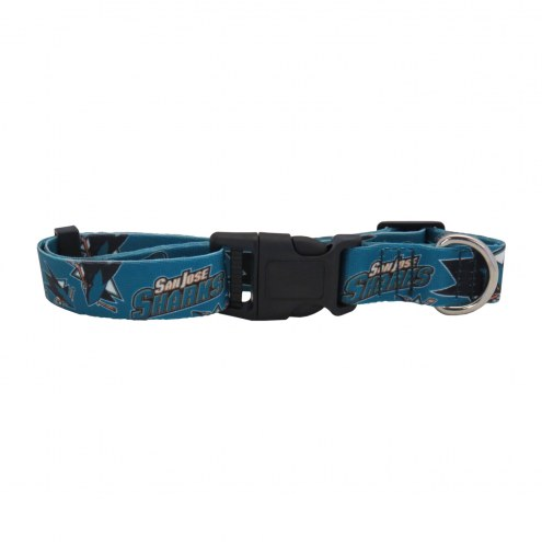 San Jose Sharks Team Pet Collar