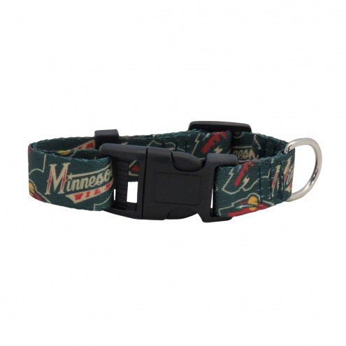 Minnesota Wild Team Pet Collar