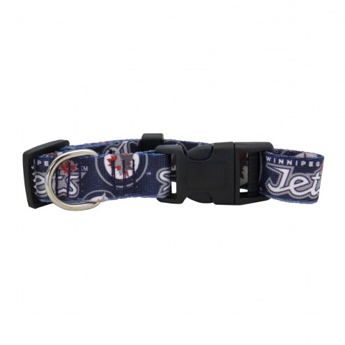 Winnipeg Jets Team Pet Collar
