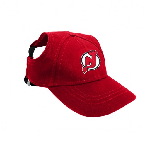 New Jersey Devils Pet Baseball Hat