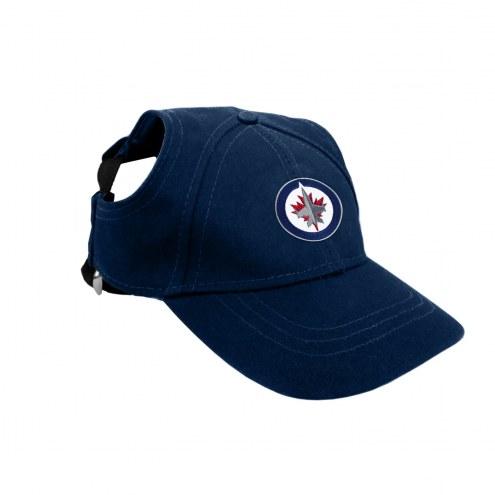 Winnipeg Jets Pet Baseball Hat