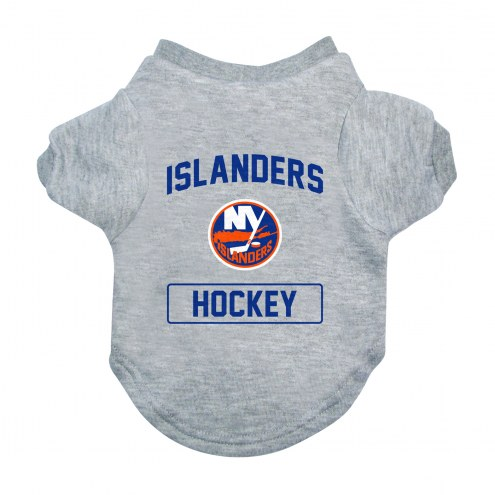 New York Islanders Gray Dog Tee