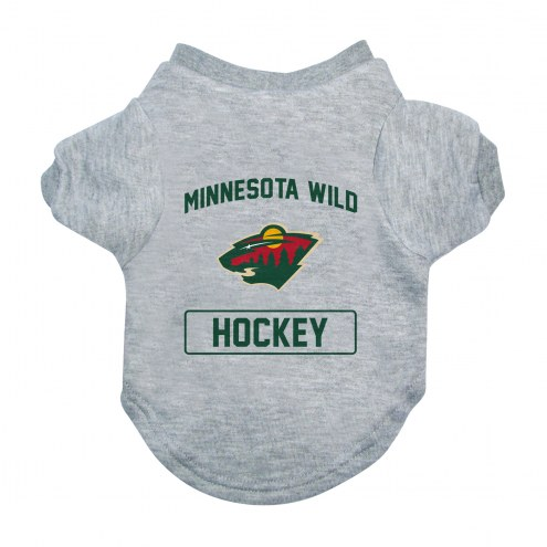 Minnesota Wild Gray Dog Tee