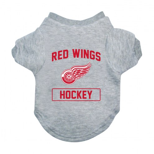 Detroit Red Wings Gray Dog Tee
