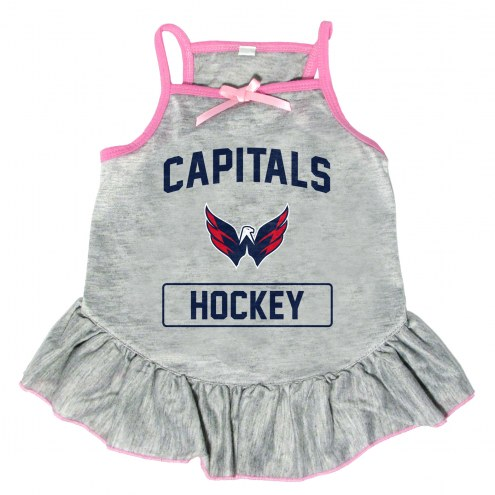 Washington Capitals Gray Dog Dress