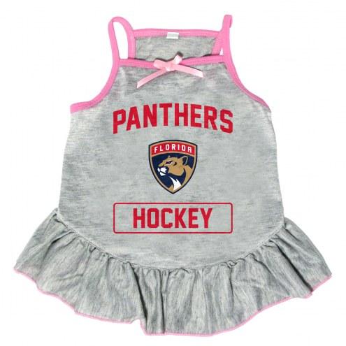 Florida Panthers Gray Dog Dress