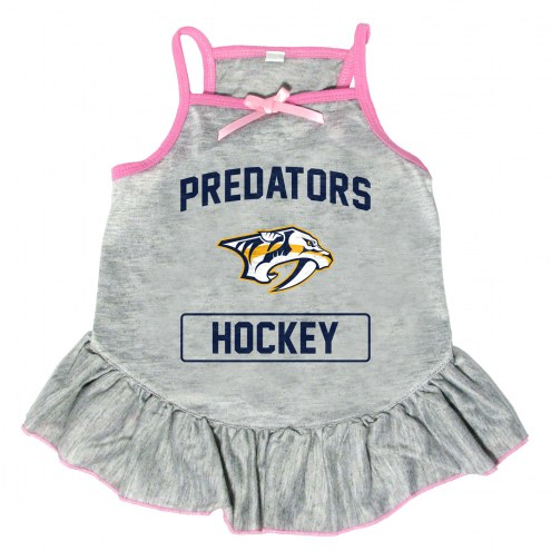 Nashville Predators Gray Dog Dress
