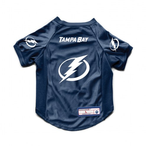 Tampa Bay Lightning Stretch Dog Jersey