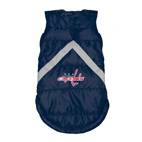 Washington Capitals Dog Puffer Vest