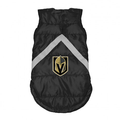 Vegas Golden Knights Dog Puffer Vest