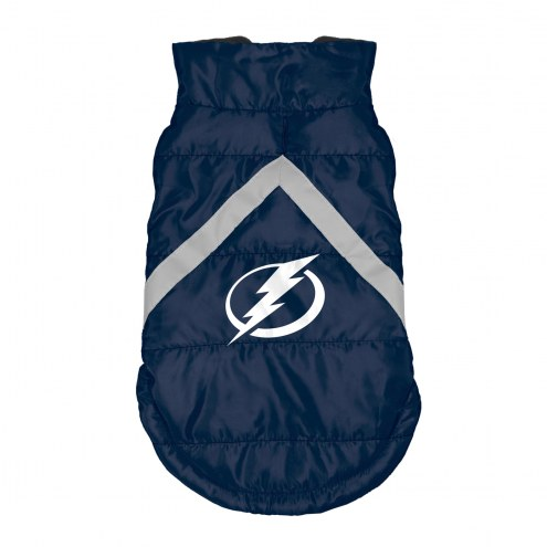 Tampa Bay Lightning Dog Puffer Vest