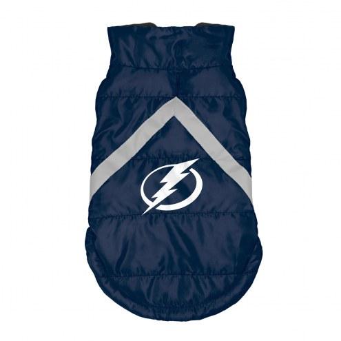 Tampa Bay Lightning Dog Puffer Vest