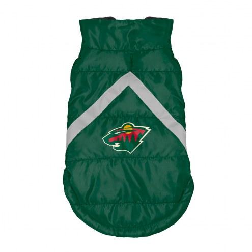 Minnesota Wild Dog Puffer Vest