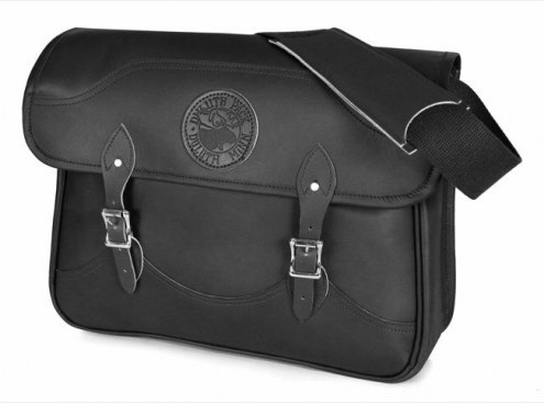 Duluth Pack Leather Book Bag