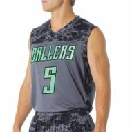 A4 Camo Custom Basketball Jersey
