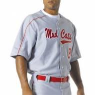 A4 Men's Warp Knit Baseball Jersey